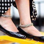 Scarpe ballerina con cinturino