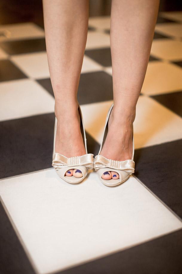 DIY-Scarpe con fiocco