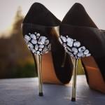 Scarpe con pietre