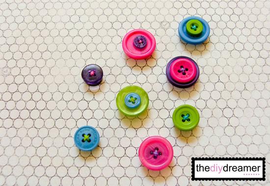 Magneti con bottoni